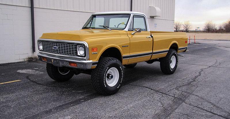 Sam Leman Chevy >> 1972 Chevrolet K20 Custom